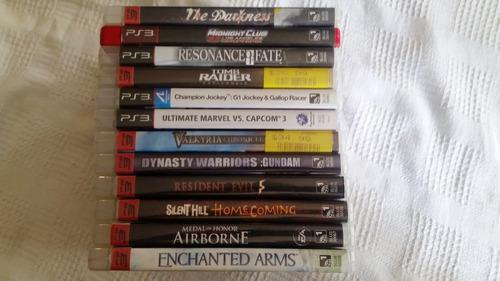 Video juegos play station 3 varios originales