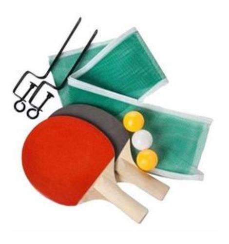 Kit raquetas de tenis de mesa malla ping pong giant dragon