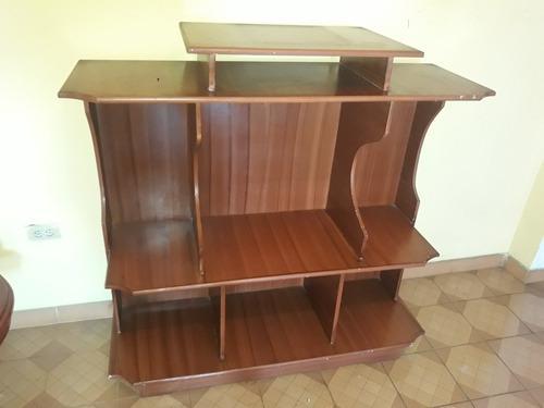 Mueble multifuncional para equipo de sonido o tv