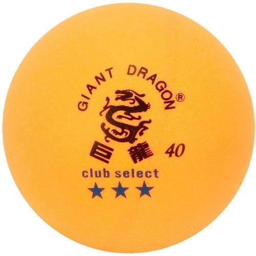 Pelota tenis de mesa giant dragon 3 estrellas. caja 6 unids.