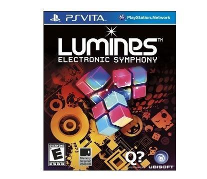 Funda plastica juego ps vita lumines symphony tetris 6verdes