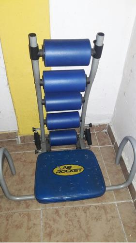 Maquina de ejercicios abdominales rocket con detalle