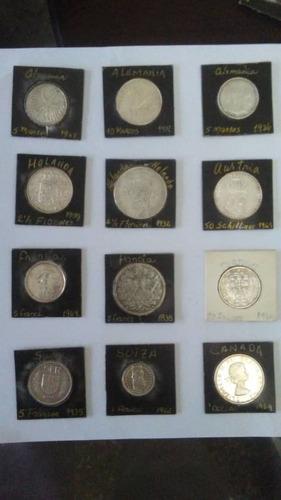 Monedas, billetes y estampillas de colección