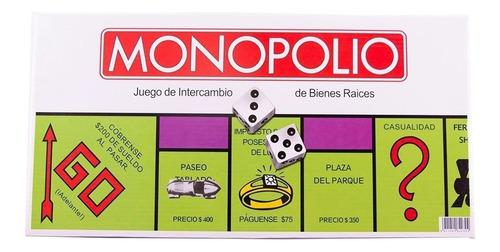 Monopolio juego de mesa didáctico original español