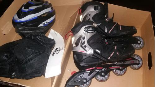 Patines rollerblade spark comp talla 43.