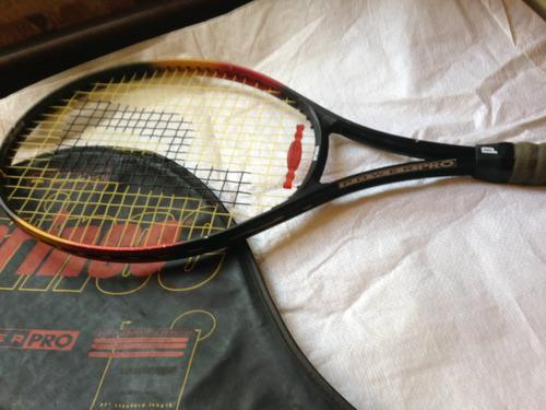 Raqueta de tennis marca prince con forro original.