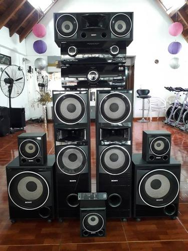 Vendo equipo de sonido sony home theather