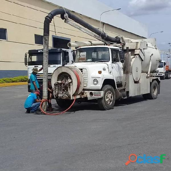 Servicio y Mantenimiento Con Camion Vactor O Vacuum