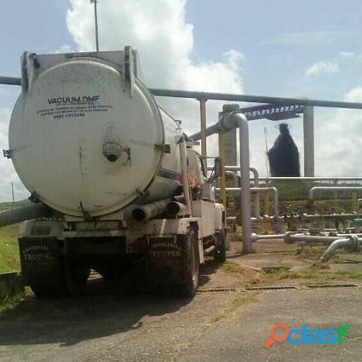 Servicio y Mantenimiento Con Camion Vactor O Vacuum 2