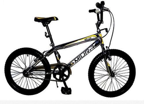 Bicicleta rin 20 miura bmx cromada nueva