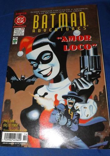 Cómic Batman Amor Loco (tomo Único, Editorial Vid)