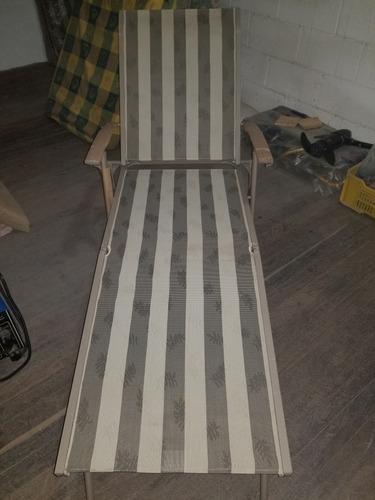Silla tumbona reclinables para tomar sol piscina a estrenar