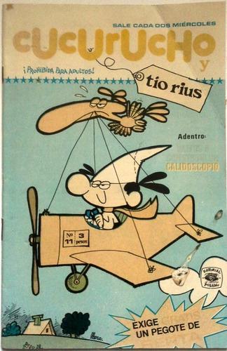 Suplemento Cucurucho Y Tío Rius N° 11- 1975