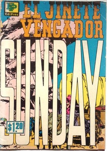 Suplemento El Jinete Vengador N° 10 31 03 1972