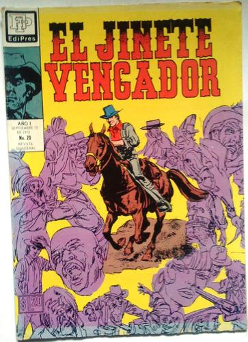 Suplemento El Jinete Vengador N° 20 -15 09 1972