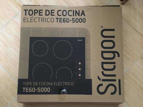 Tope de cocina electrico vitroceramica siragon