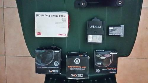Accesorios fotograficos canon