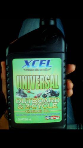 Aceite xcel para motos 2 tiempos y motores fuera de borda