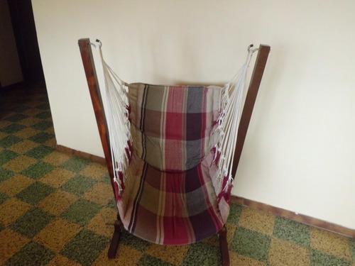 Base para mazalla o tumbona o perezosa en madera con perezos