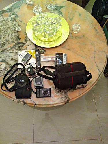 Camara samsung 16.1 mp mas accesorios 15 verdes