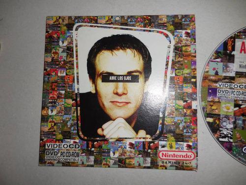 Cd de juegos de nintendo 64 abre los ojos año 2004 (pregunt