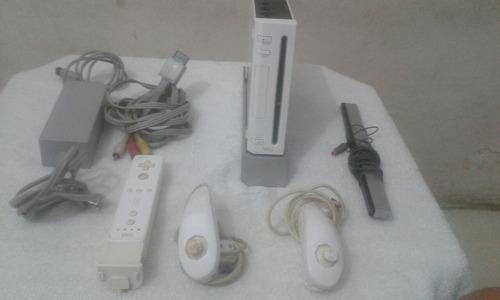 Consola wi con todos sus accesorios