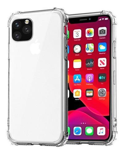 Forro estuche transparente tpu resistente iphone 11 pro (8v)