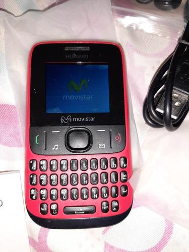 Huawei g6007 con su caja y todos sus accesorios movistar