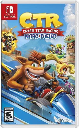 Juego crash team racing nintendo switch nuevo