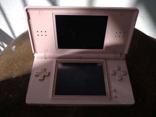Nintendo ds lite sistema portátil rosa
