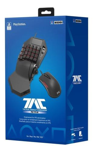 Tac pro type m2 playstation 4 y pc (teclado y mouse)