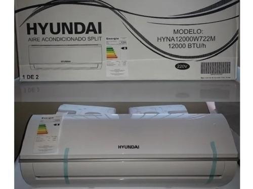 Aire acondicionado 12.000 btu v220 marca hyundai nuevo