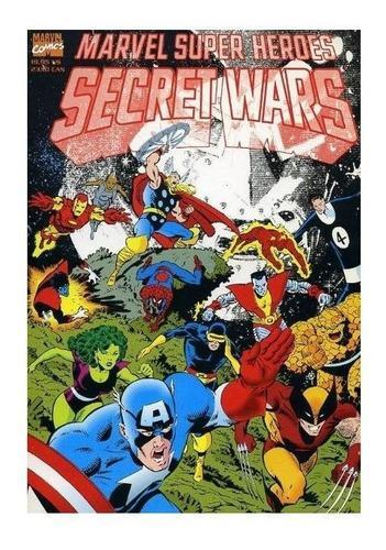 Marvel secret wars saga completa digital