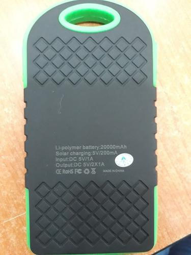 Powerbank solar de 20.000 amp