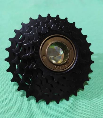Rachet o piñón de 6 velocidades para bicicleta