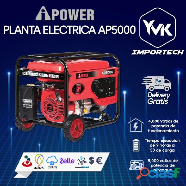 Planta eléctrica ap5000 ipower
