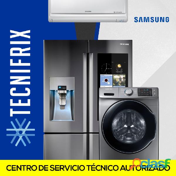 Tecnicos de Neveras y Lavadoras Samsung a domicilio