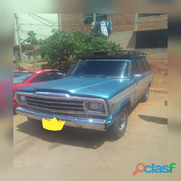 Vendo mi Wagoneer Limite 1985