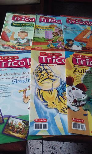 66 revistas tricolor años 2003 y 2004