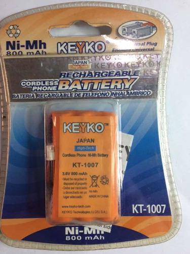 Batería para teléfono inalámbrico 800 mah 3.6v(leer