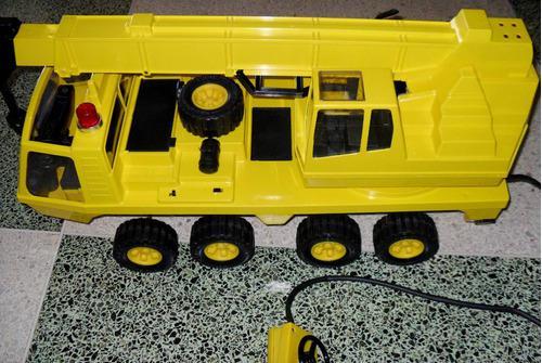 Camion grua telescopica jumbo, marca rico