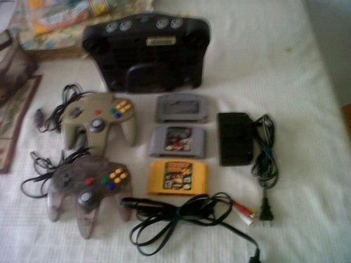 Consola y juegos nintendo 64