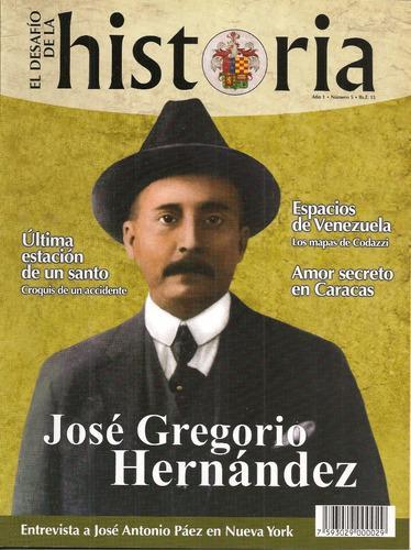 Dossier josé gregorio hernández / desafío de la historia