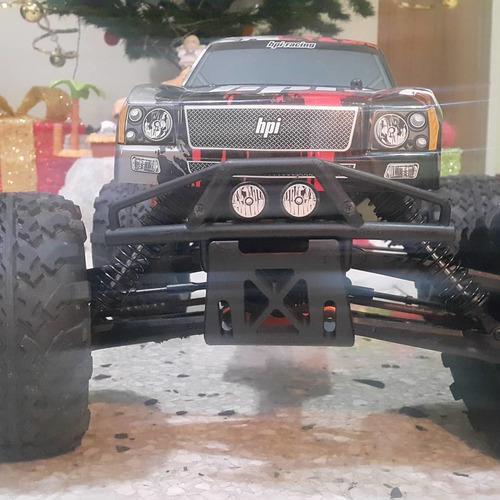 Hpi,monters truck a radio control savage 4.6,4x4 a nitro