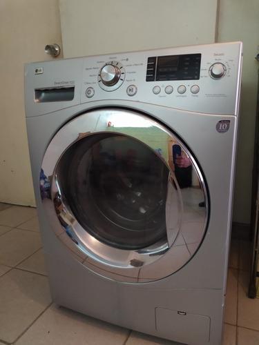 Lavadora secadora lg direct drive 10kilos