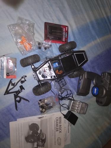 Mini rock crawler 1/18 losi con accesorios adicionales