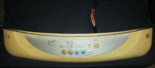 Panel de funciones lavadora lg 6kilos 3 step wf-5745spm