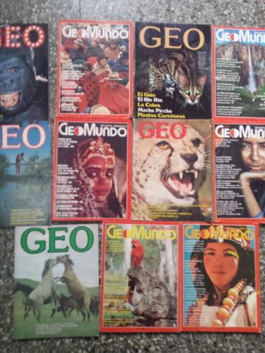Revista geomundo pack de 11 revistas