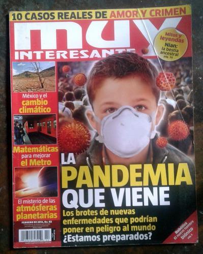 Revista muy interesante año 2014 nº 02 pandemia