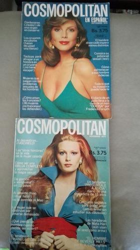 Revistas cosmopolitan vintage